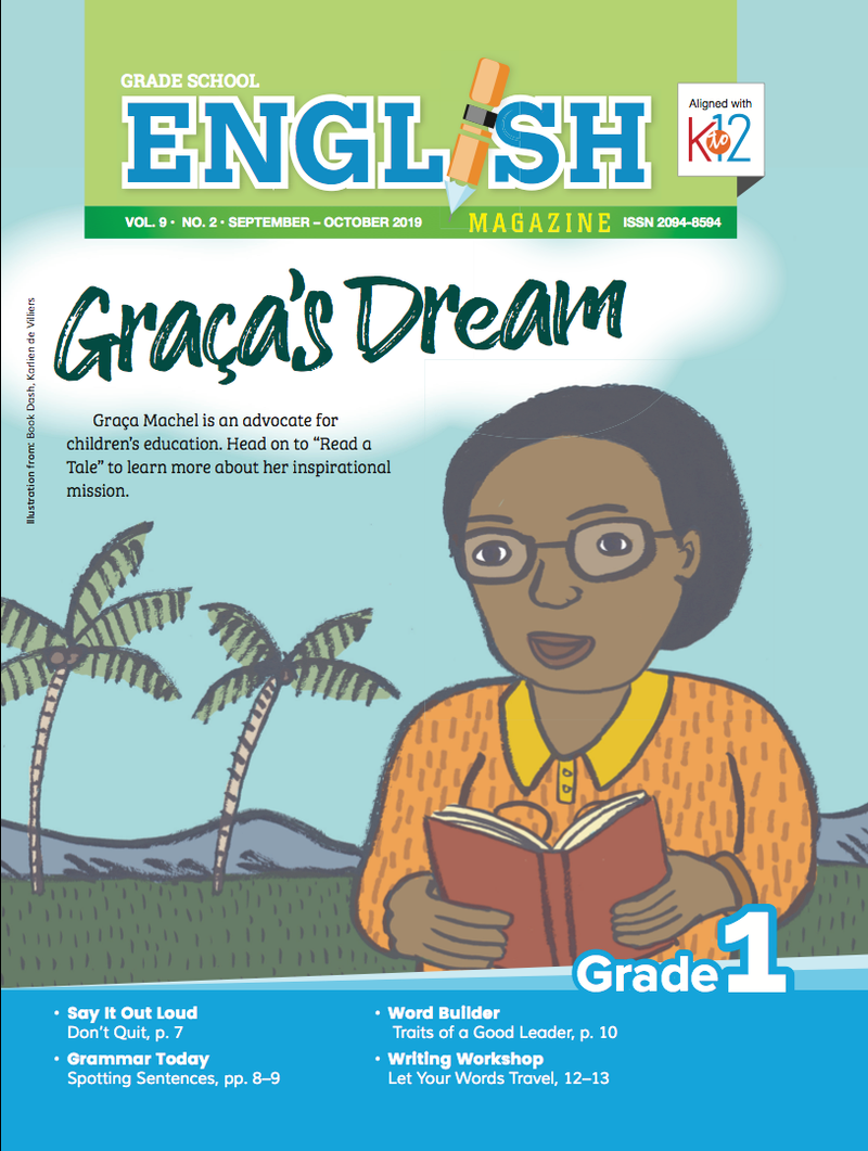 English Magazine Grade 1 (Issue 2 2019)