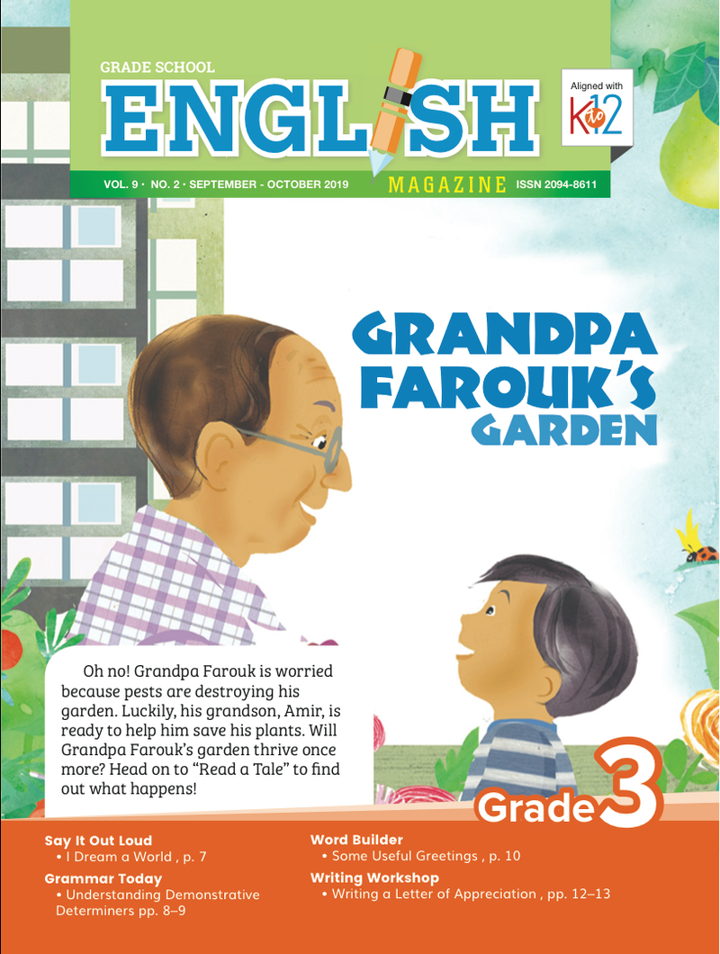 English Magazine Grade 3 (Issue 2 2019)