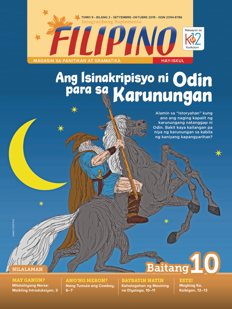 Filipino Magazine Grade 10 (Issue 2 2019)