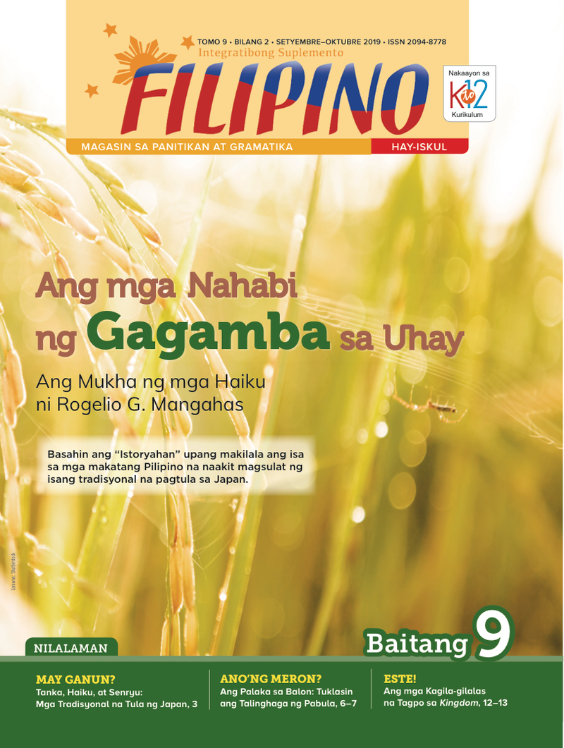 Filipino Magazine Grade 9 (Issue 2 2019)