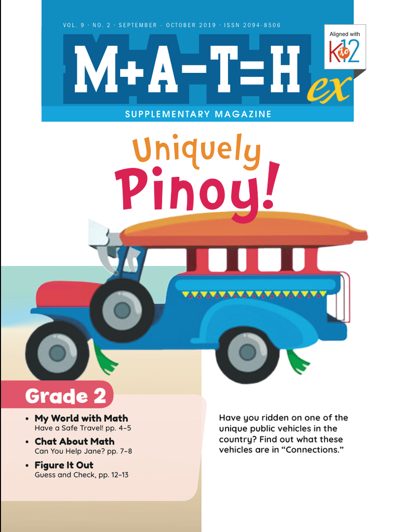 Math Magazine Grade 2 (Issue 2 2019)