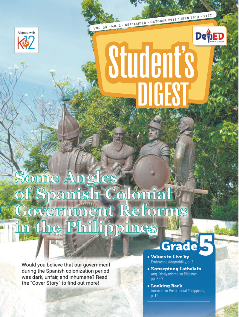 Student Digest Magazine Grade 5 (Issue 2 2019)