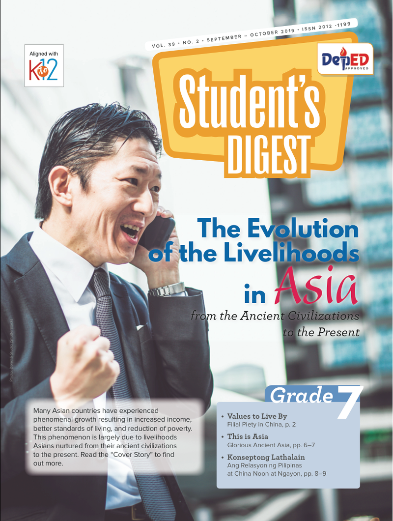 Student Digest Magazine Grade 7 (Issue 2 2019)