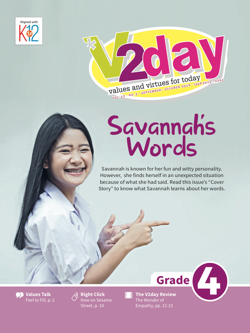 V2DAY Magazine Grade 4 (Issue 2 2019)