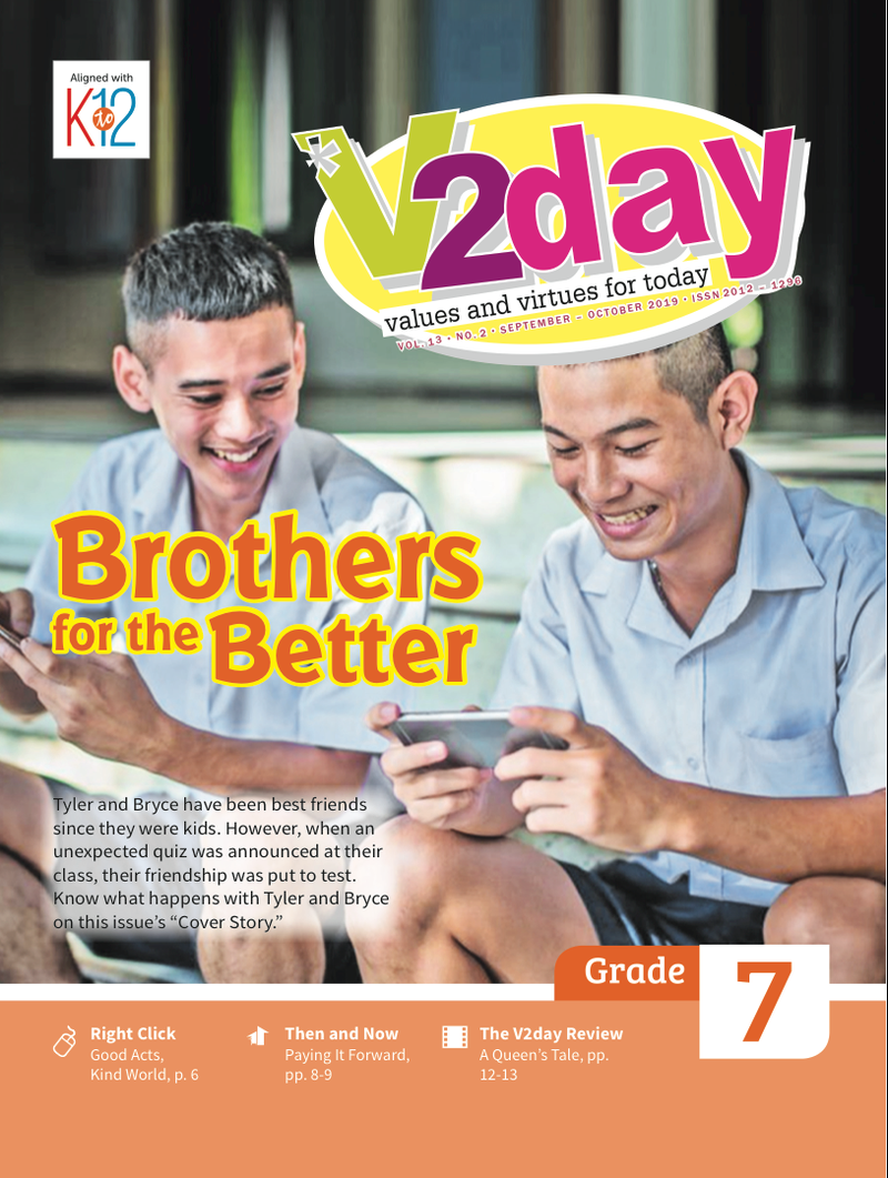 V2DAY Magazine Grade 7 (Issue 2 2019)