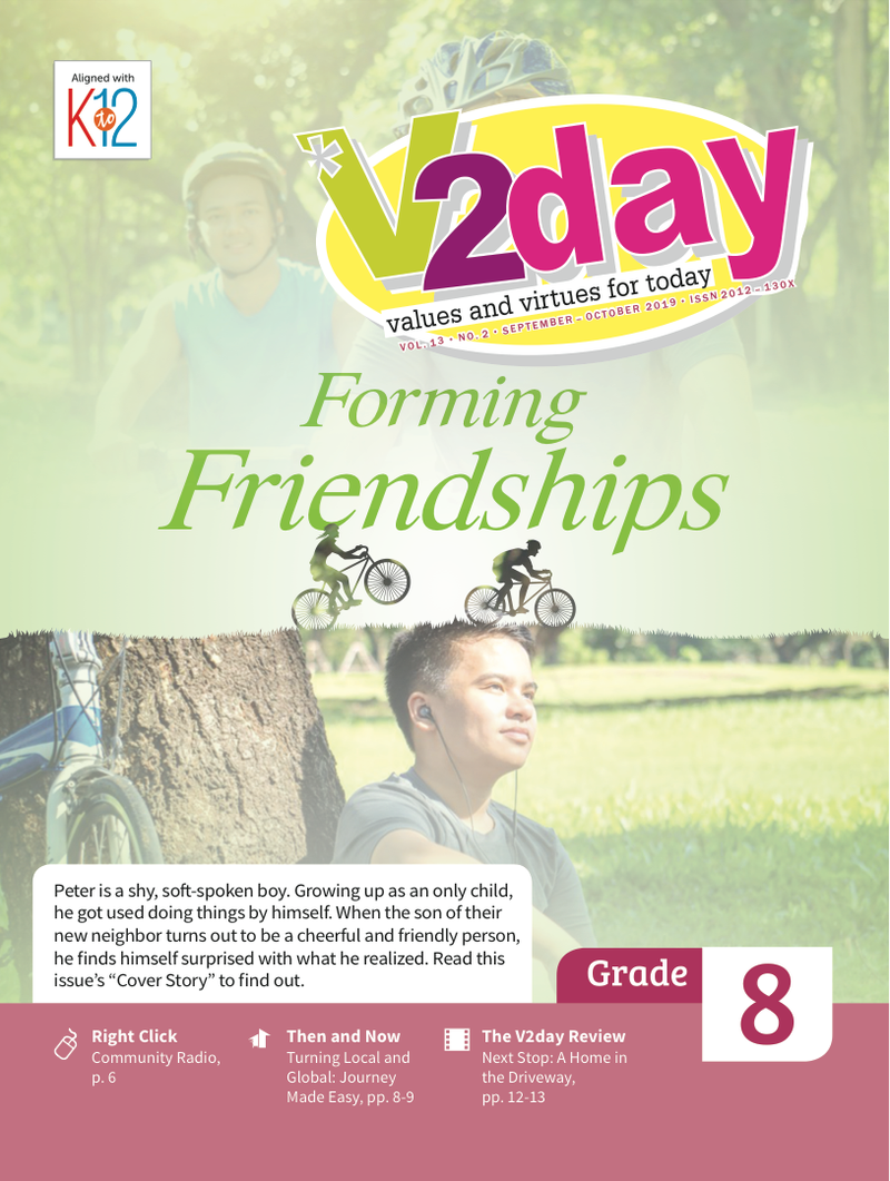 V2DAY Magazine Grade 8 (Issue 2 2019)