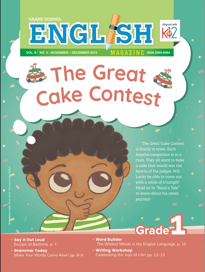 English Magazine Grade 1 (Issue 3 2019)