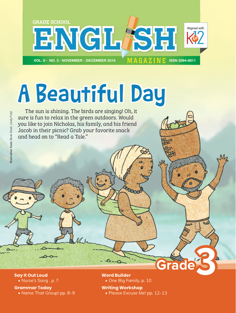 English Magazine Grade 3 (Issue 3 2019)