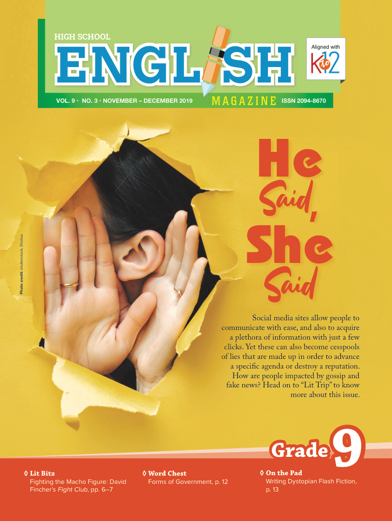 English Magazine Grade 9 (Issue 3 2019)