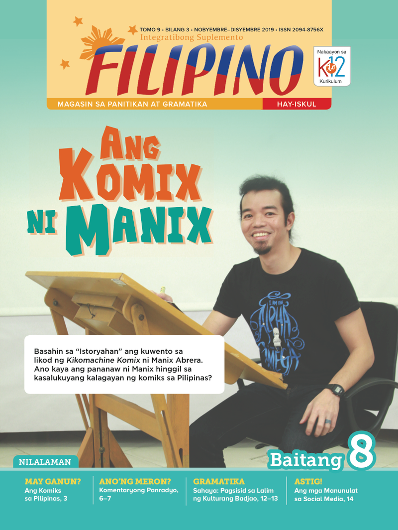 Filipino Magazine Grade 8 (Issue 3 2019)