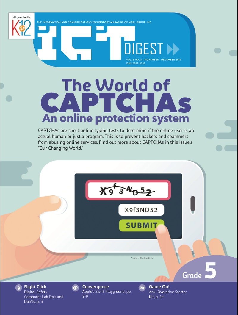 ICT Magazine Grade 5 (Issue 3 2019)