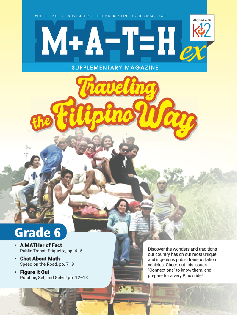 Math Magazine Grade 6 (Issue 3 2019)