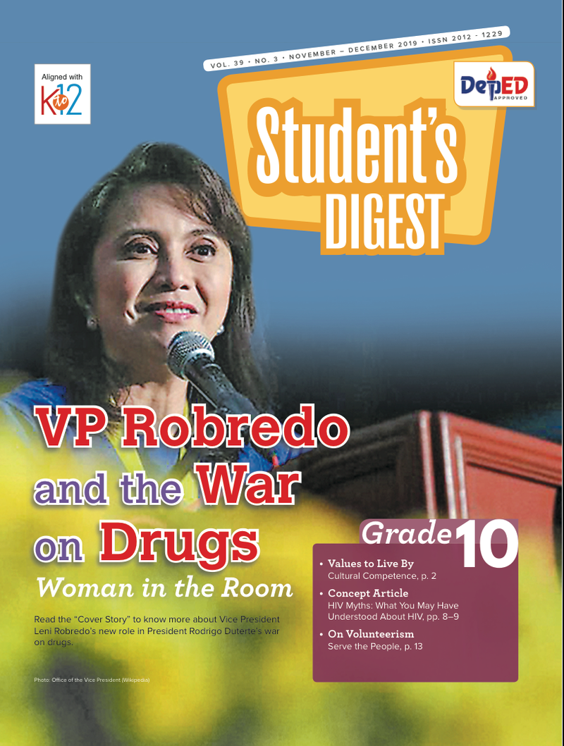 Student Digest Magazine Grade 10 (Issue 3 2019)