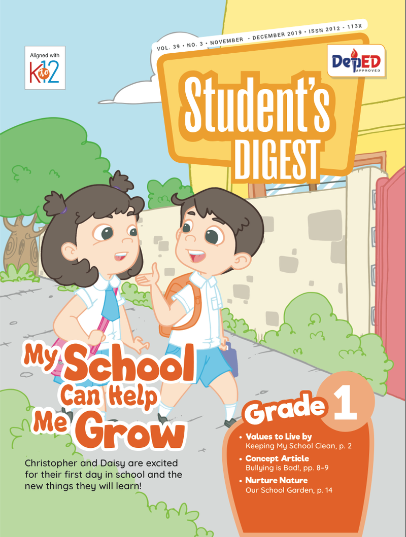 Student Digest Magazine Grade 1 (Issue 3 2019)