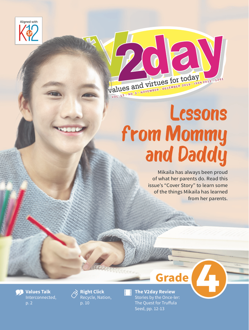 V2DAY Magazine Grade 4 (Issue 3 2019)