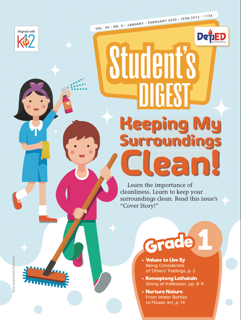 Student Digest Magazine Grade 1 (Issue 4 2019)