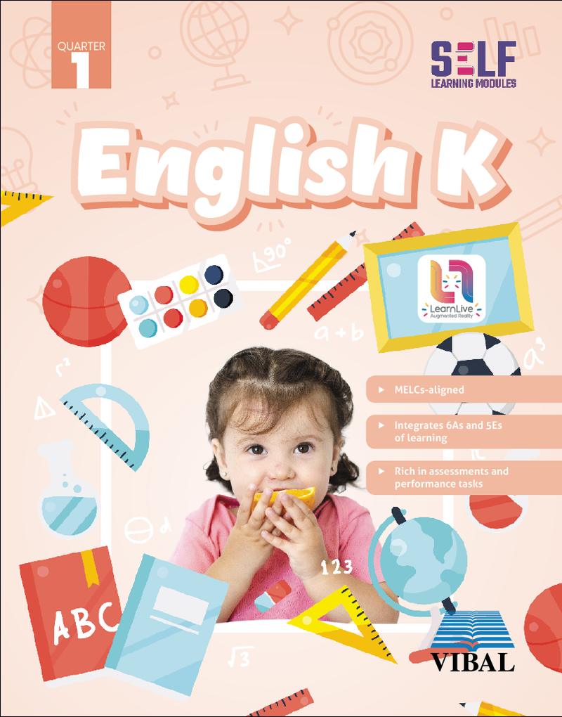 Self-Learning Modules: English Grade Kinder (Quarter 1)