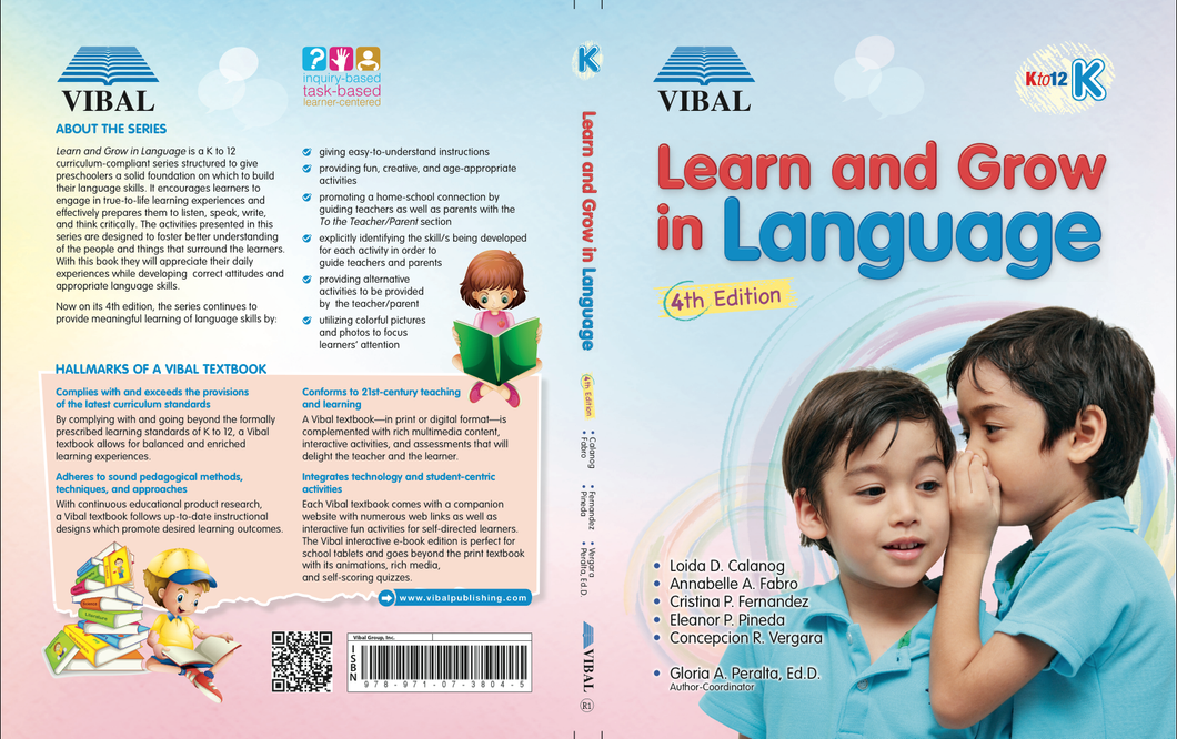 Learn and Grow in Language K (English)