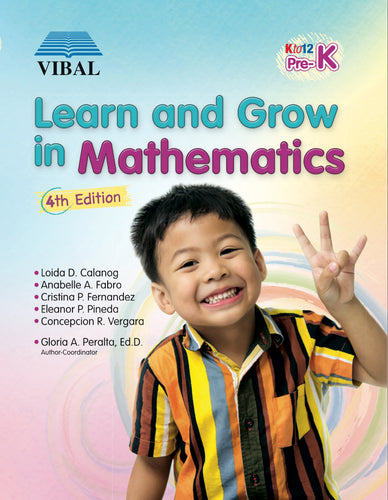 Learn and Grow in Mathematics Pre-K (Math)