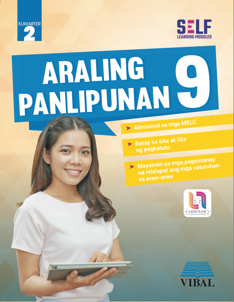 Self-Learning Modules: Araling Panlipunan Grade 9 (Quarter 2)