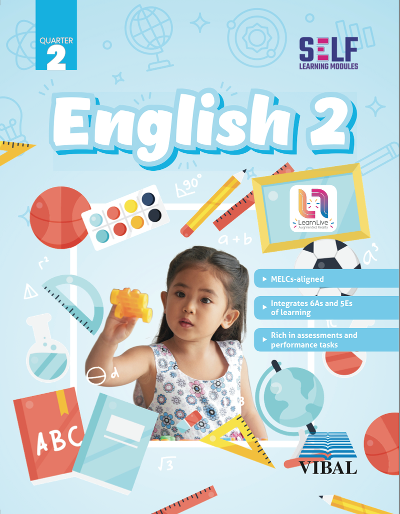 Self-Learning Modules: English Grade 2 (Quarter 2)