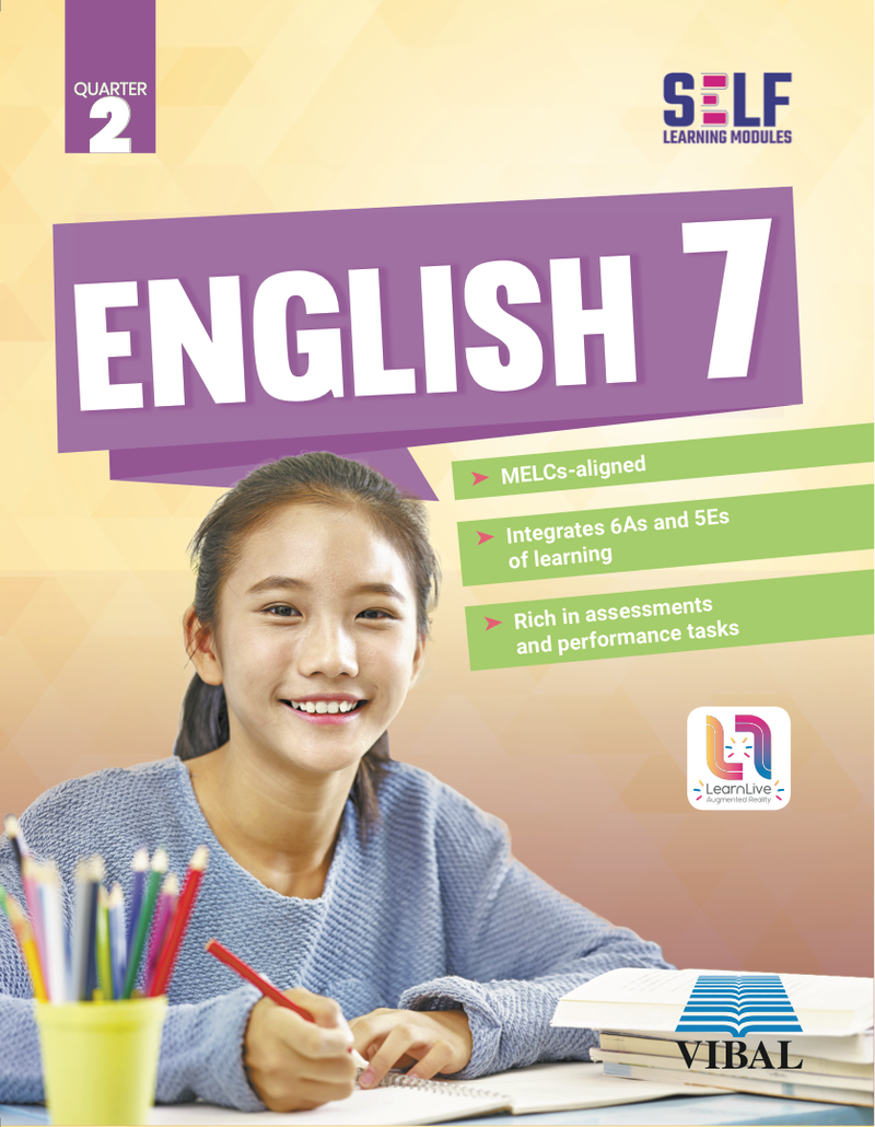 Self-Learning Modules: English Grade 7 (Quarter 2)