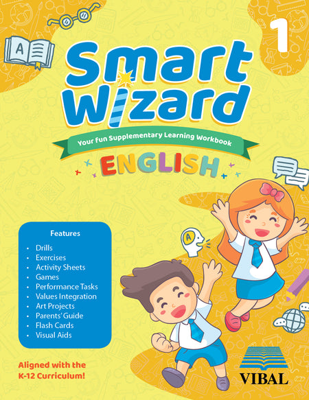 Smart Wizard English Grade 1