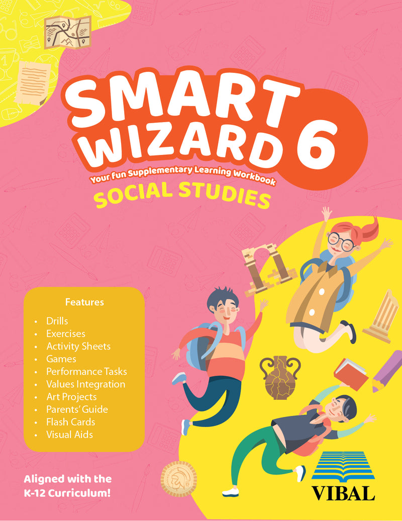 Smart Wizard Social Studies Grade 6
