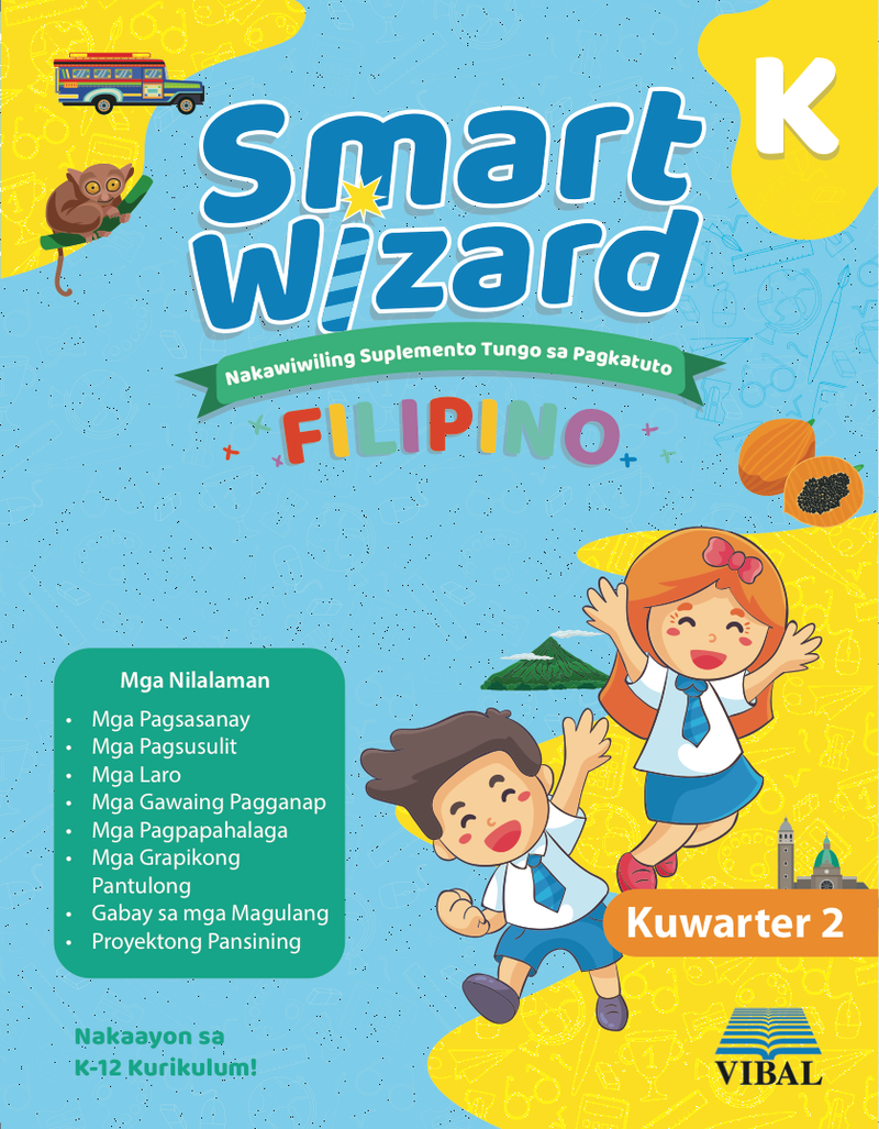 Smart Wizard Filipino Kinder (Quarter 2)
