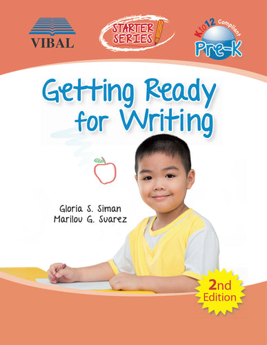 Getting Ready for Writing Pre-K