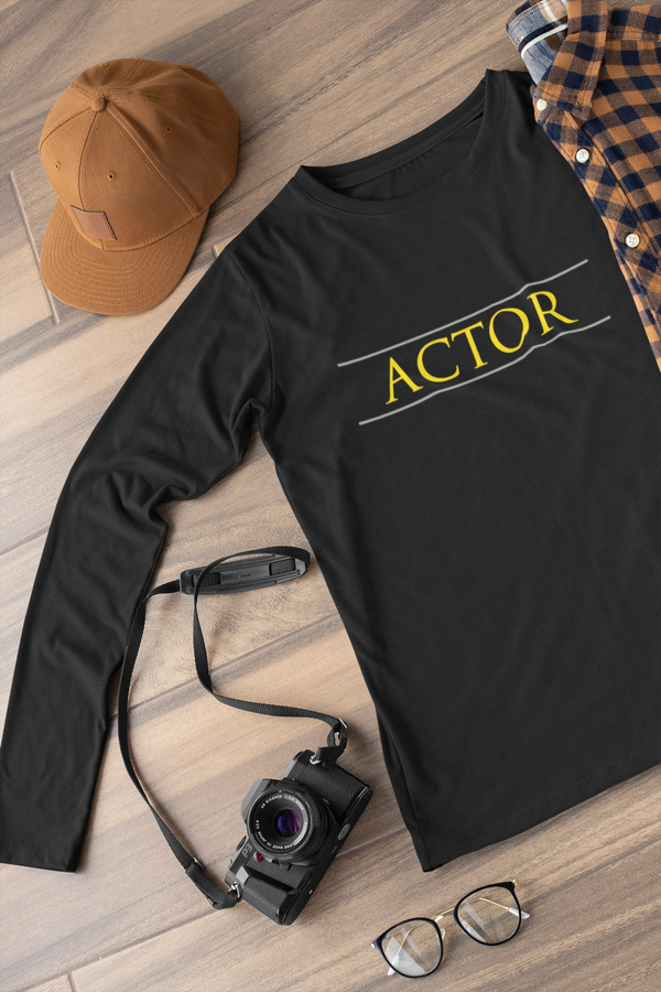 Actor Long sleeve t-shirt