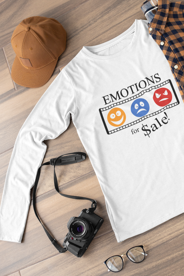 Emotions for sale Long sleeve t-shirt