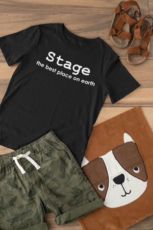 Stage Best Place On Earth-Kids T-Shirt