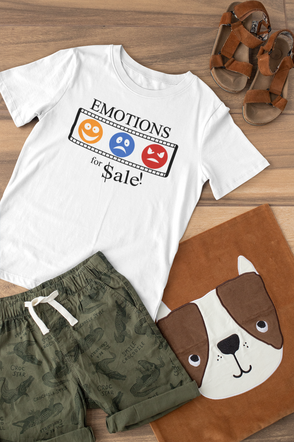 Emotions For Sale-Kids T-Shirt
