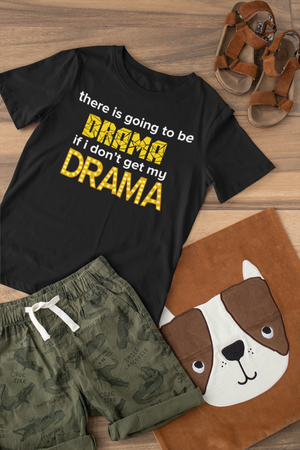 There's going to be drama Youth Short Sleeve T-Shirt