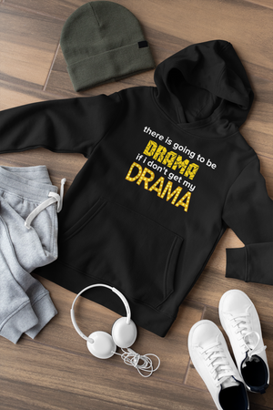 There's going to be drama Kids Hoodie