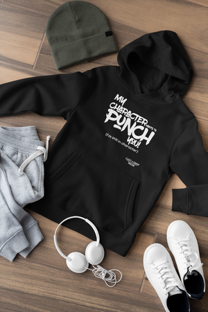 My Character wants to punch you Kids Hoodie