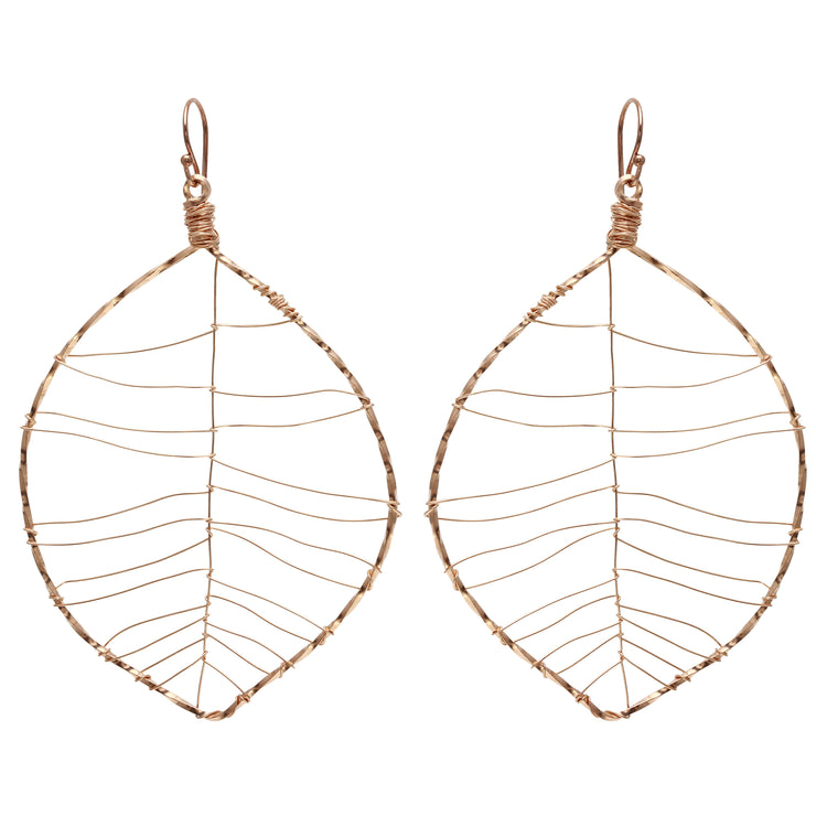 Signature Leaf Earrings