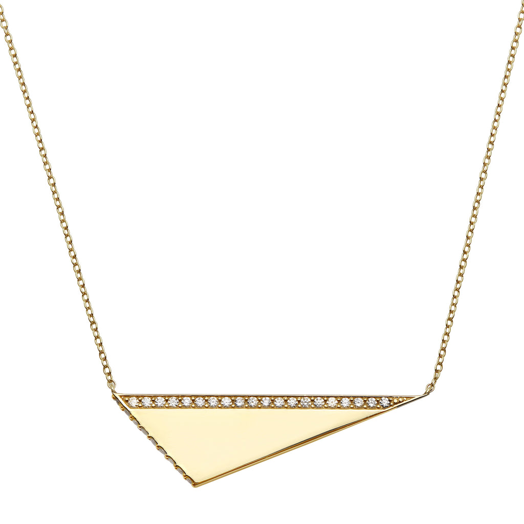 "Diamond ""Geo"" Necklace"