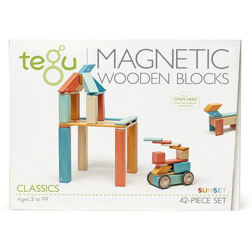 Tegu Magnetic Blocks Classic (42pc)