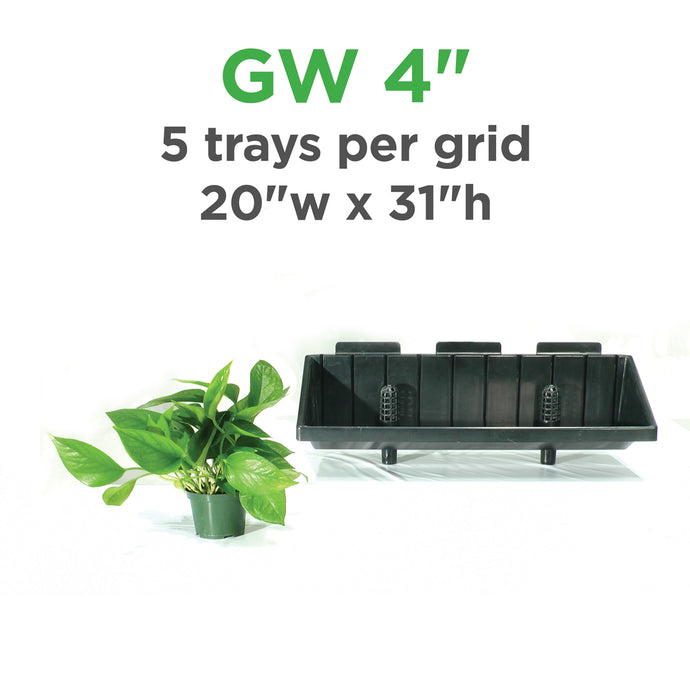 Green Wall Vertical Planter Kit for 4
