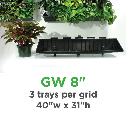 Plantups Green Walls Vertical Planter Kit for 8