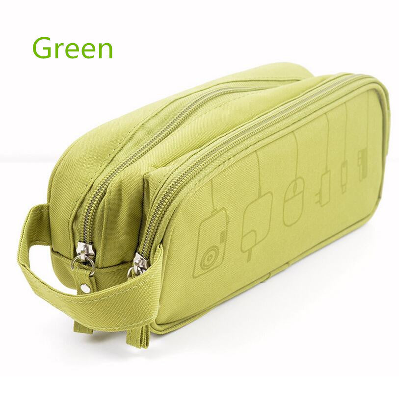 Large Travel Cable Storage Bag
