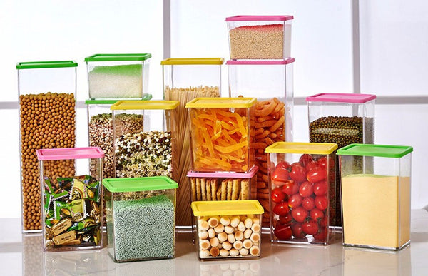 Plastic Kitchen Food Storage Containers