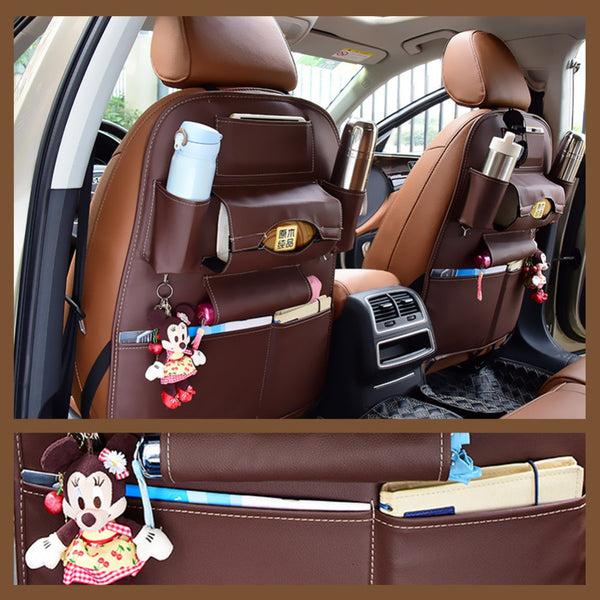 Leather Seat Organizer