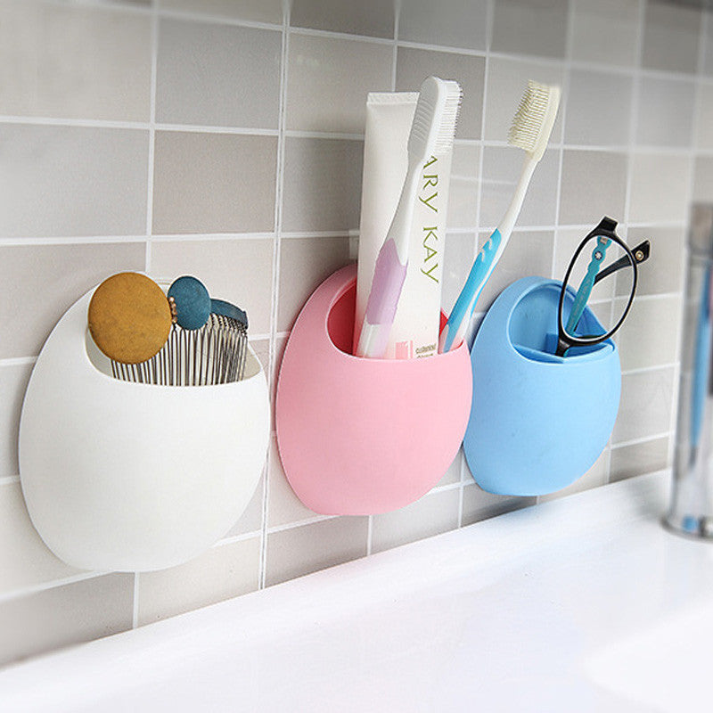 Suction Cup Bathroom Organizer