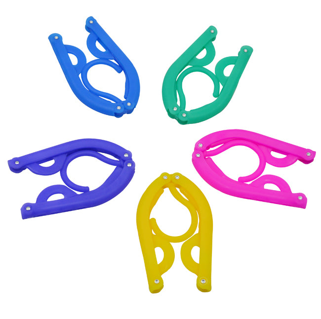 Folding Travel Hanger (set of 5)