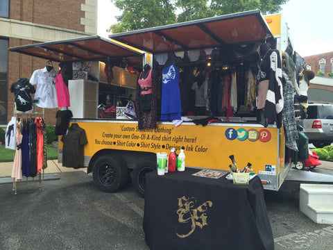 Sacer and Savive - Mobile Boutique - Pop Up Shop