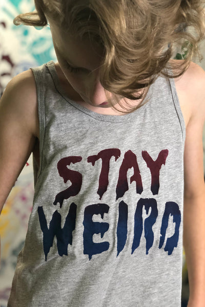 Stay Weird Youth Tank