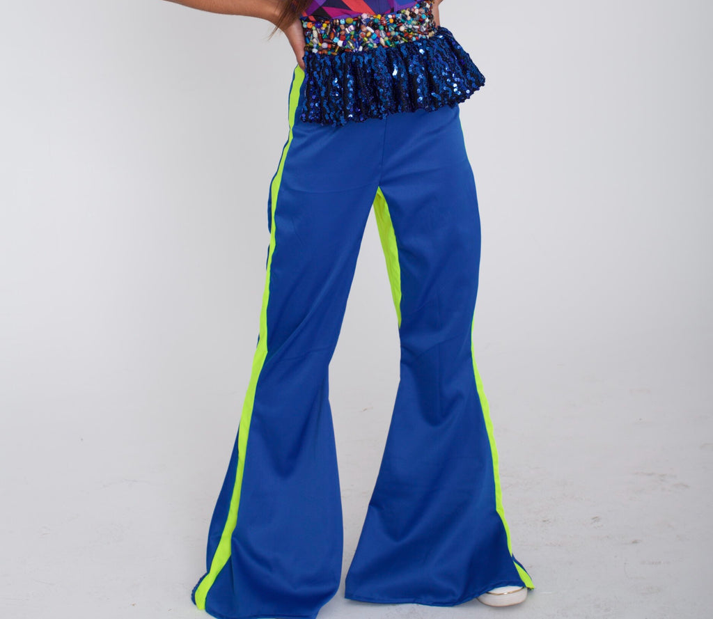 Skittlez Peplum Bellbottoms